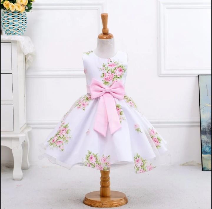 Satin Cotton Dresses for girls