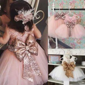 sequin Flower girl dress for sale
