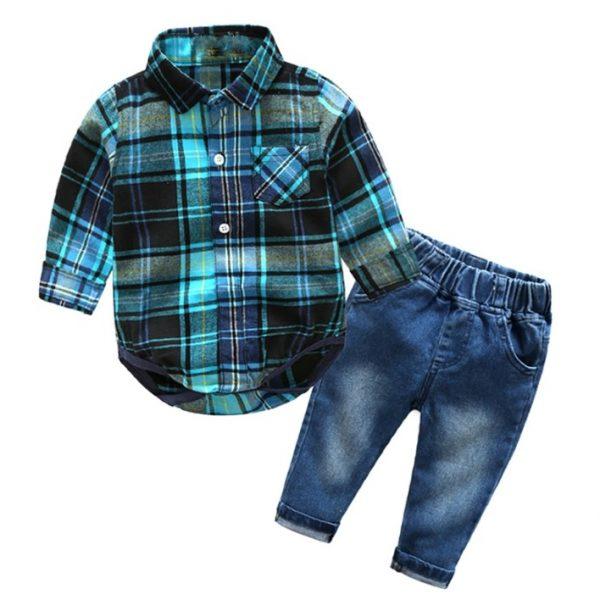 Fashion Baby Boy Clothing set